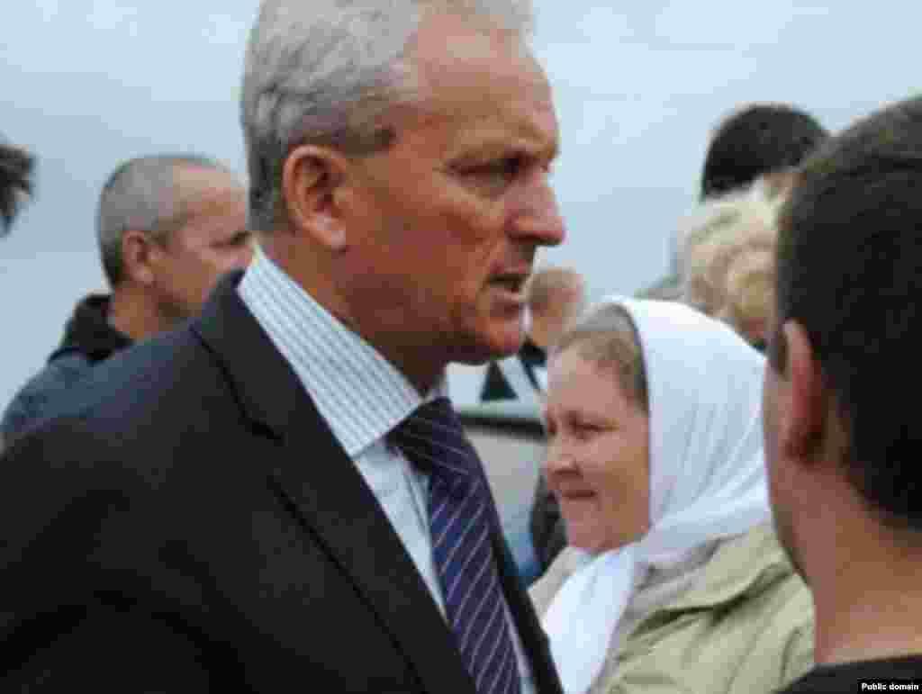 Феодосия шәһәре мэры Александр Бартенев