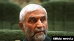 حسين همدانی، جانشين فرمانده نيروی مقاومت بسيج وابسته به سپاه پاسداران.(عکس: وب سایت منطقه مقاومت بسیج تهران بزرگ)