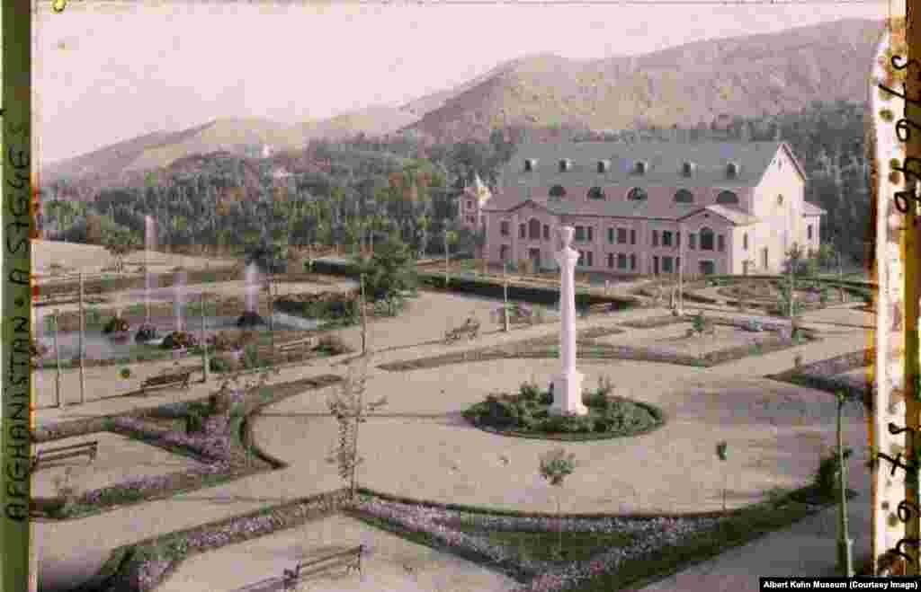 The Paghman gardens. The public estate was built in the early 1900s by Amanullah Khan.
