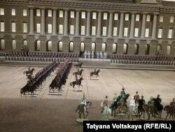 Экспонат Музея оловянного солдатика (Петербург)