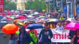 Belgrade Protest No. 32 Targets Interior Minister's Qualifications