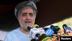 Abdullah Abdullah is thought to be a leading contender in Afghanistan's upcoming presidential election.