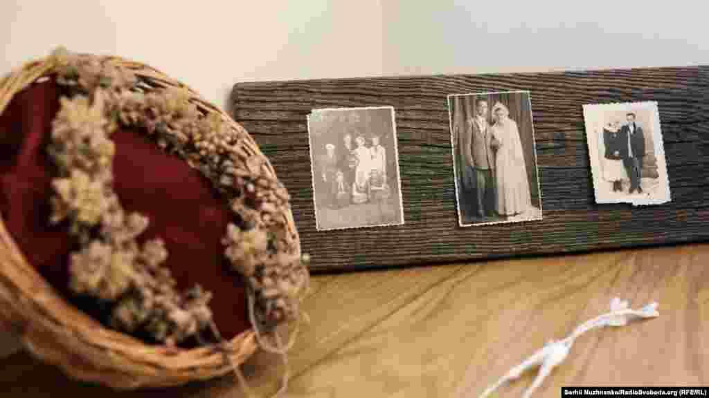 Старі весільні фотографїї