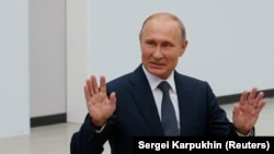 Президент России Владимир Путин, Москва, 7 июня 2018 года