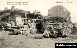 Крымскотатарская сакля в Алупке