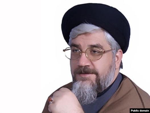 سید سلمان صفوی، رییس آکادمی صلح در لندن و برادر مشاور نظامی رهبر ایران.