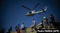 На границе между США и Мексикой