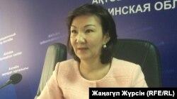 Гүлқасима Сүйінтаева, Ақтөбе облыстық қаржы басқармасының бастығы.