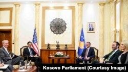 Ubrzati evropsku agendu Kosova: Hojt Ji na sastanku sa Kadrijem Veseljijem u Prištini