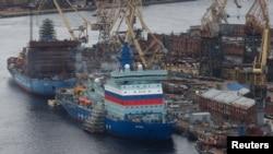 """Според руския клон на """"Грийнпийс"""" руските ядрени ледоразбивачи са възможен източник на радиоактивното замърсяване в Северна Европа"""