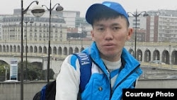 Kazakhstan - Ruslan Medelbek, correspondent with RFE/RL's Kazakh language service.