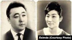 Кубанычбек Нурбеков и его супруга Лариса Ким.