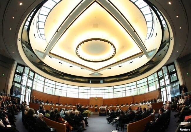 Засідання Міжнародного трибуналу з морського права. Фото з офіційного сайту Трибуналу