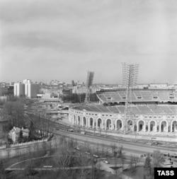 Стадыён «Дынама». 1 чэрвеня 1980 году