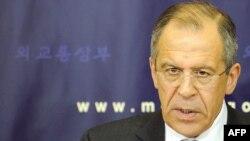 "Russian Foreign Minister Sergei Lavrov said negotiators would ""to work out arms reductions above and beyond what has already been achieved."""