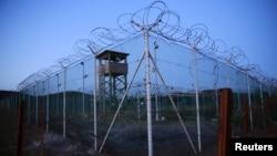 Куба - Симхорҳои зиндони Гуантанамо. 21 марти соли 2016.