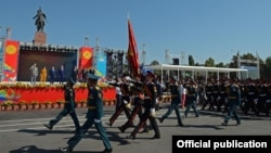 Ала-Тоо аянты, Бишкек, 31-август, 2016