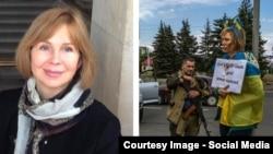 Irina Dovgan, declarată duşman de separatiştii de la Doneţk