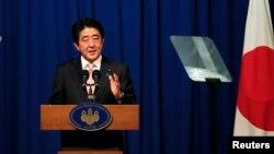 Жапониянын премьер-министри Синдзо Абэ