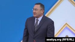 Заутбек Турисбеков, ставший заместителем председателя Всемирной ассоциации казахов. Астана, 23 июня 2017 года.