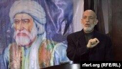 Ish presidenti afgan, Hamid Karzai