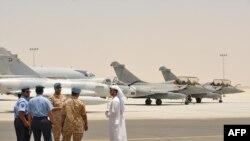 چند هواپیمای نظامی امارات در پایگاهی در ابوظبی/ عکس تزئینی است