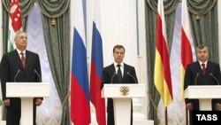 Россия подпишет соглашения об охране границ с Абхазией и Южной Осетией