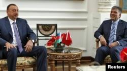 Встреча президентов Турции и Азербайджана в Стамбуле. 7 июня 2010 г.