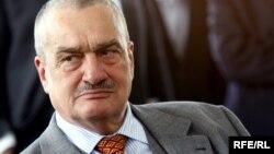 Çex Respublikasının Xarici İşlər naziri Karel Schwarzenberg.