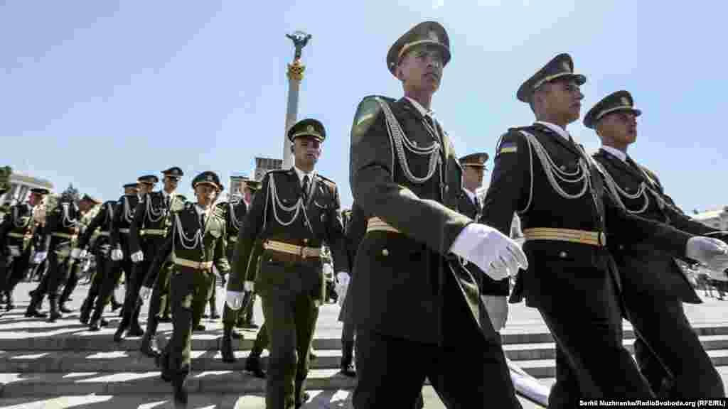 В акції взяли участь військові окремого полку президента України