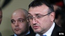Вътрешният министър Младен Маринов и главният секретар на МВР Ивайло Иванов