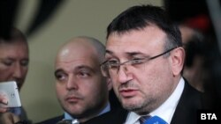 Interior Minister Mladen Marinov (file photo)