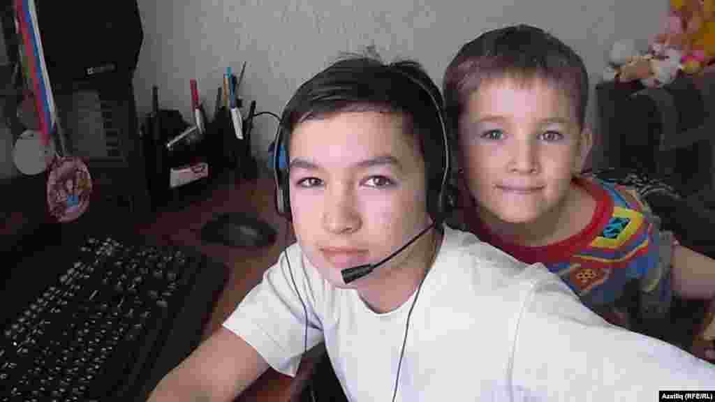 Ilyas, 11, and his brother Timur, 7, live in the Russian republic of Bashkortostan. Ilyas wants to become a doctor or an athlete, and hopes for his volleyball team to win. Timur wants to become a driver, and hopes to see a hippo at the zoo.