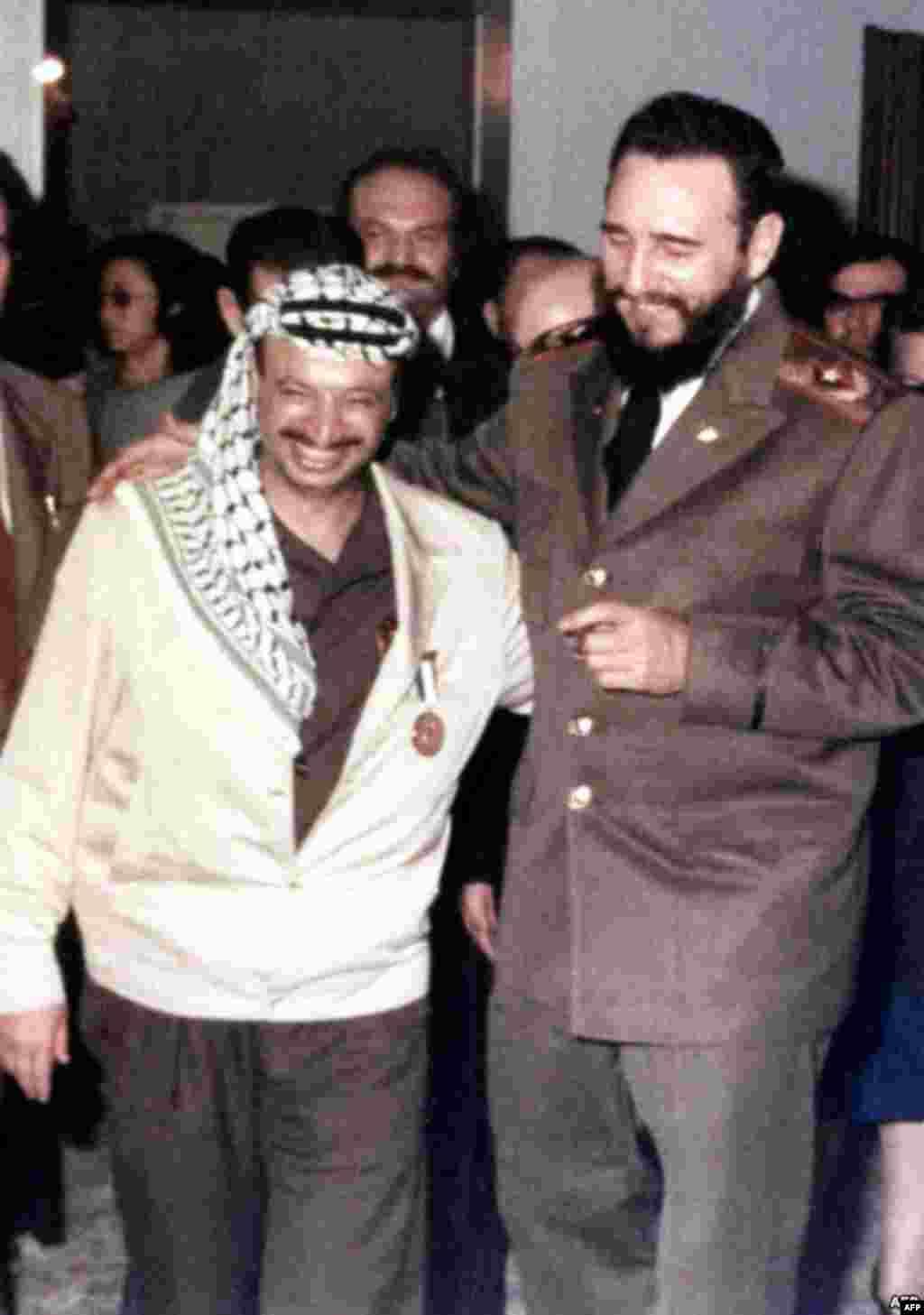 با یاسر عرفات در ۱۹۷۰
