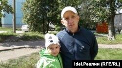 Артем Панфилов с дочерью Аней