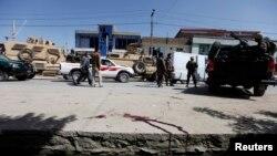 На місці вибуху в Кабулі