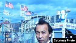 Багдад Арипов, лидер казахской патриотической организации «Ел болашагы» («Будущее нации»). Нью-Йорк, 15 октября 2010 года.
