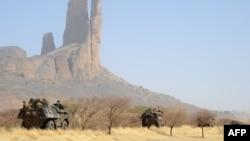 Француски војници во Мали.