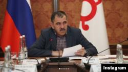 ГIалгIайчоьнан куьйгалхо Евкуров Юнус-Бек