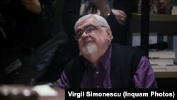 Andrei Pleșu, la deschiderea unei librării Humanitas de la Timișoara.