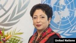 ملیحه لودهی سفیر پاکستان در سازمان ملل متحد