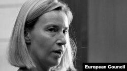 високата претставничка за безбедност и надворешна политика на ЕУ Федерика Могерини