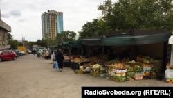 Рыноквозле кинотеатра «Россия» в Севастополе