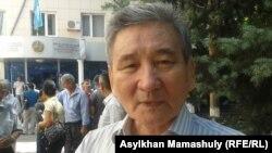 Историк Бейбит Койшыбаев. Алматы, 30 июля 2014 года.