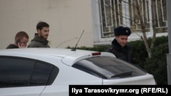 Задержание Рустема Османова в Бахчисарае, 11 декабре 2017 год