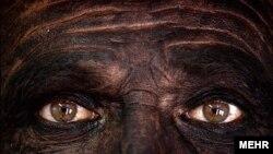 چهره یک معدنکار