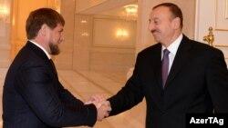 İlham Əliyev Ramzan Kadyrov-u qəbul edir, 15 noyabr 2012