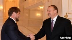 İlham Əliyev və Ramzan Kadyrov
