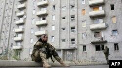 Иллюстрационное фото. Авдеевка, жилой дом после обстрела