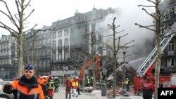 Архивска фотографија: Пожар во Лиеж.